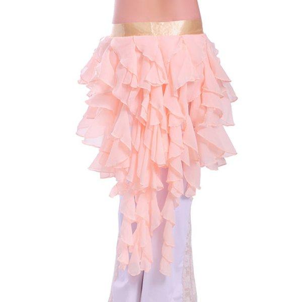 画像1: ベリーダンススカーフD01--「多色可」ヒップスカーフ (1)