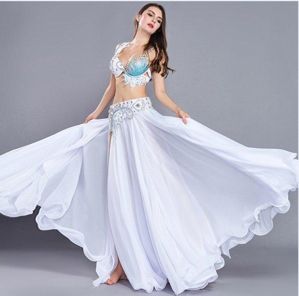 画像1: ベリーダンス衣装コスチューム--発表会用★3点セット8801 (1)