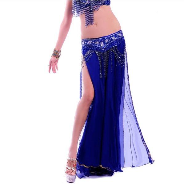 画像1: ベリーダンススカート--6009 (1)