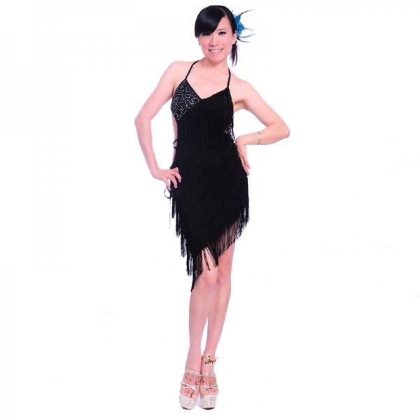 画像1: ラテンダンス 衣装 練習セット-ワンピース7005 (1)