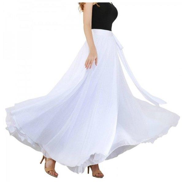 画像1: ベリーダンススカート--スカート119134 (1)