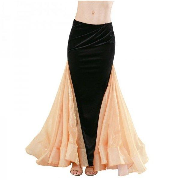 画像1: ベリーダンススカート--スカート119149 (1)